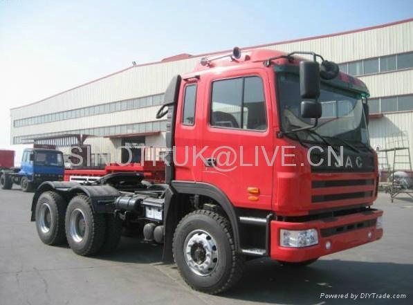 JAC GALLOP 6X4 tractor truck with CUMMINS 290HP Engine (CA6DL1-260E3) 1
