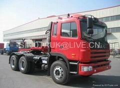 JAC GALLOP 6X4 tractor truck with CUMMINS 290HP Engine (CA6DL1-260E3)
