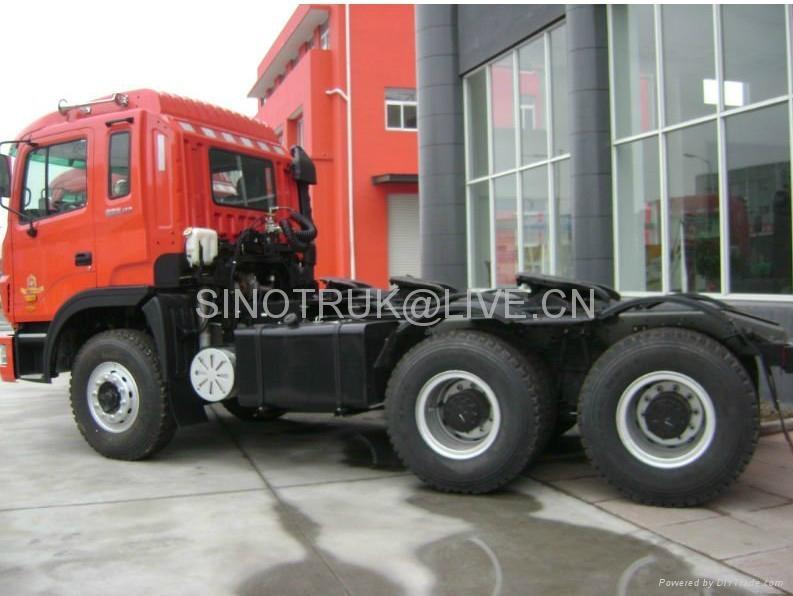 JAC GALLOP 6X4 tractor truck with CUMMINS 290HP Engine (CA6DL1-260E3) 2