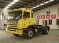 JAC GALLOP 6X4 tractor truck with CUMMINS 290HP Engine (CA6DL1-260E3) 3