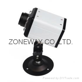 All Metal Casing IP Camera with 8 Infrared LEDs Night Vision, LAN Cable