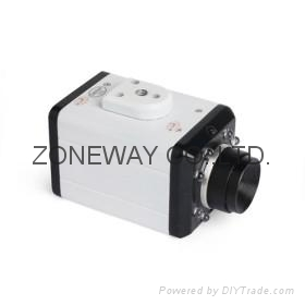 All Metal Casing IP Camera with 8 Infrared LEDs Night Vision, LAN Cable 2