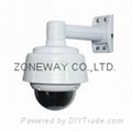 Mini IP Speed Dome Camera with 10X zoom