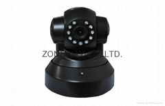 1.0MP 720P Plug and Play IP Cameras Wireless WiFi PT Remote Monitoring p2p Camer