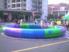 拱門,氣球,卡通,游泳池,遊樂床