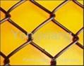 chain link fence/ galvanized iron wire