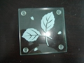 tempered glass cup pad