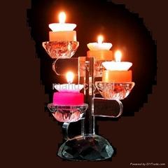 crystal candlestick