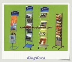 Metal Rotary Magazine Display Racks, Retail Display Racks