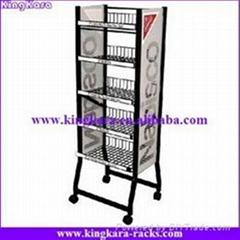 KingKara trolley display stand