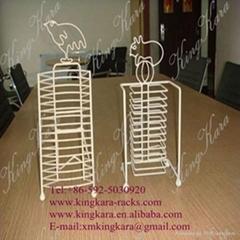 KingKara Magazine Exhibition Display, magazine holder, magazine stand, magazine