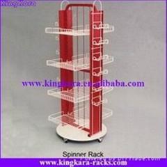 KingKara 2 faces revolving display stand