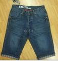 men's jeans bermuda