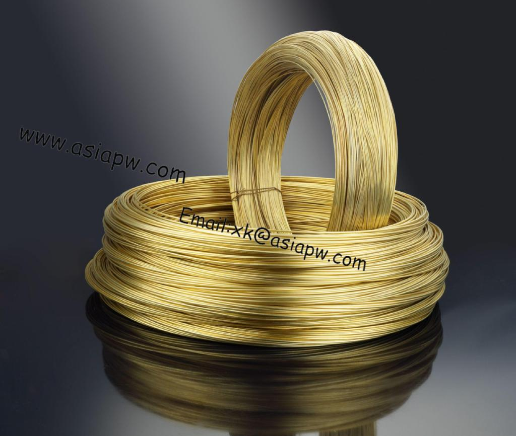 Copper alloy brass wire and bar c pw