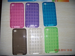 TPU case for iPod touch 4