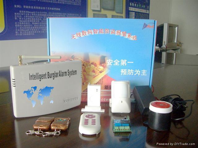 CDMA Wireless burglar alarm system 802A 2
