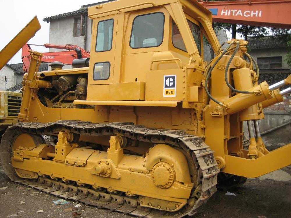 Used Construction Machine Used Bulldozer Cat D8k