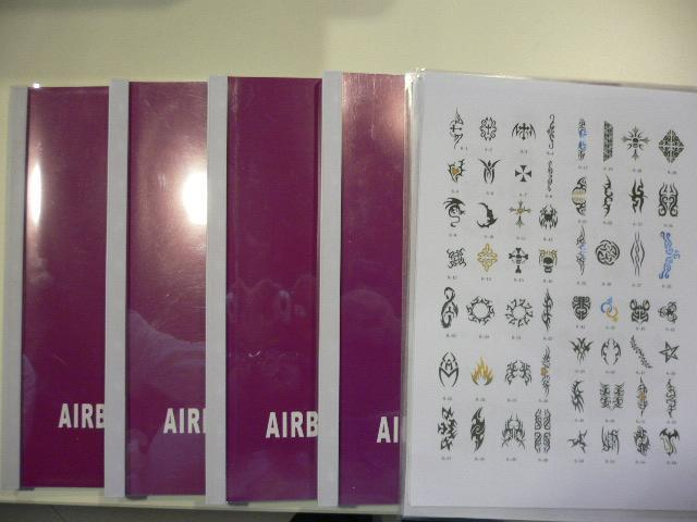 Airbrush Tattoo Stencil Book - JFH01 - JFH (Hong Kong Manufacturer) - Other