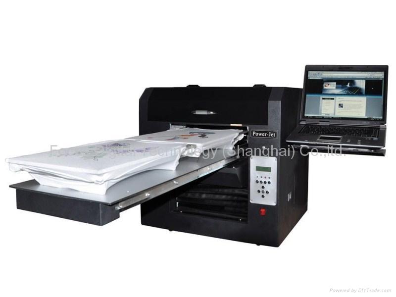 T shirt printer digital flatbed printer multi functional for T shirt digital printer