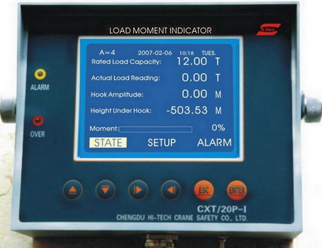 Load Moment Indicators For Cranes : Cxt p i tower crane load moment indicator china