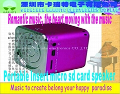 TF Card mini speaker JH-MD06/Micro
