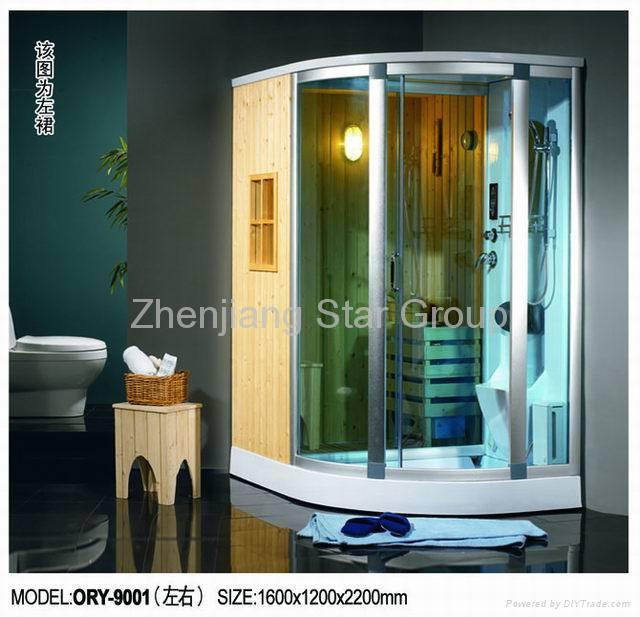 sauna &steam shower room 1