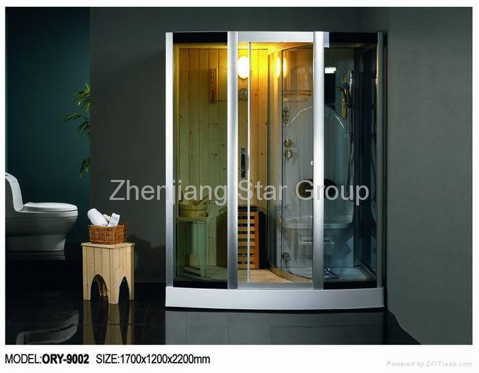 sauna &steam shower room 2