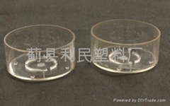 retartant flame environmental plastic tea candle cup