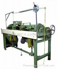 shoelace tipping machine