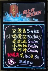 led writing board YGB with light box