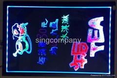 led writing board YGB colorful type
