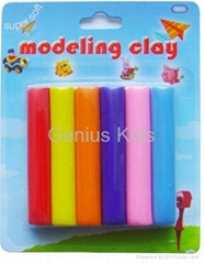 modelling clay & play dough