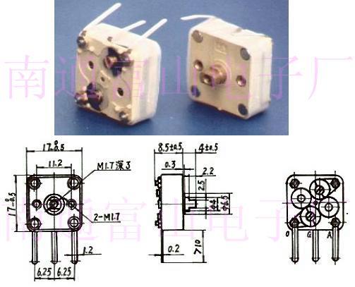 variable capacitor CBM-224H-1CA4 - Product Catalog - China ...