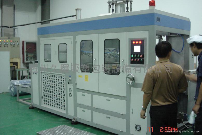 电脑型液晶触摸屏全自动真空吸塑机 1