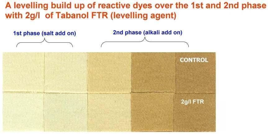 Tabanol FTR   活性染料染色均染劑 1