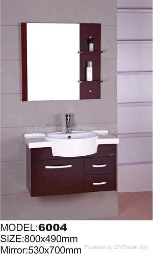 bathroom cabinet,solid Oak wood bathroom cabinet,bathroom ...