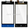 HTC Windows Phone 8S Digitizer Touch Screen Front Glass Panel