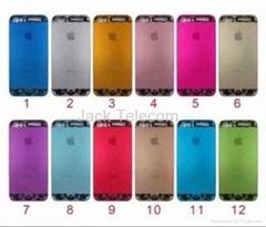 Premium Aluminium Chrome Hard Back Case Cover For iPhone 5 5S  Thin & light
