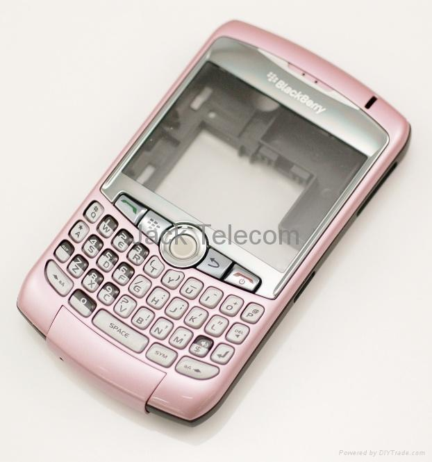 blackberry curve 9300 case : Hot Pink Silicone Case / Skin / Cover