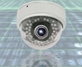 High Resolution Vandal Proof IR Dome Camera With Varifocal lens
