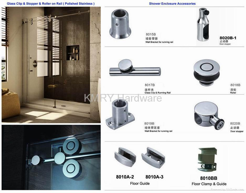 Stainless Steel Hardware For Shower Door 8018 Kmry