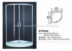 Round Shaped Shower Enclosure