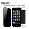Privacy screen protector for iPhone 5 1