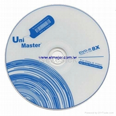 Optical media DVD-R DVDR 16X Recordable disc