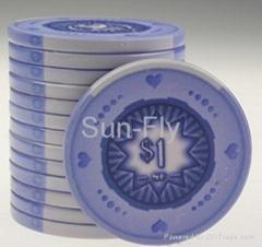 Spaydz Ceramic Poker Chips
