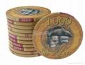 Bauta 43mm Over-sized Ceramic Poker Chips 2