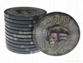 Bauta 43mm Over-sized Ceramic Poker Chips 3