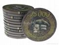 Bauta 43mm Over-sized Ceramic Poker Chips 4