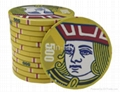 Suits 43mm Over-sized Ceramic Poker Chips 5