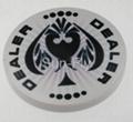 Spaydz 2-inch Ceramic Dealer Button